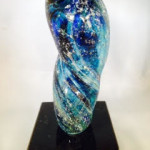 Eternal Light Sculpture Memorial-Glass (Choice of 2 colors) $879