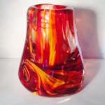 Roma Red Vase