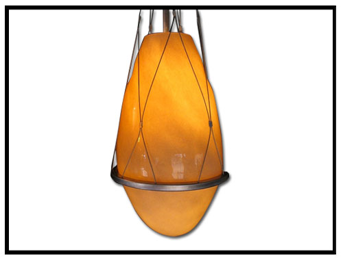 Enamel Egg Pendant Light